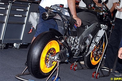 Moto GP 2008: Hayden se réconcilie avec sa Honda