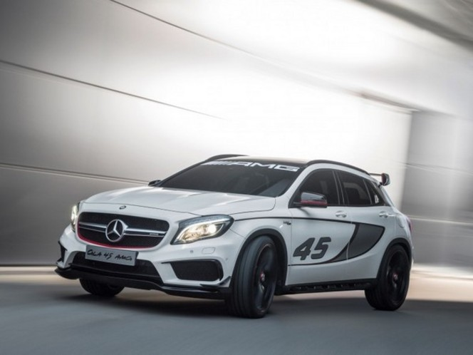 actualit nouveaut mercedes gla 45 amg concept. Black Bedroom Furniture Sets. Home Design Ideas