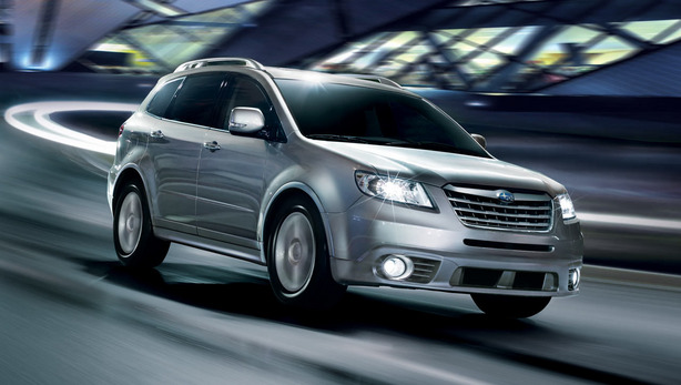 Tokyo 2013 : Subaru Crossover 7 concept, pour remplacer le Tribeca