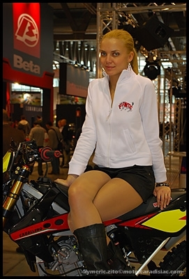 Salon de Milan en direct : Les demoiselles de l'EICMA - Part 1