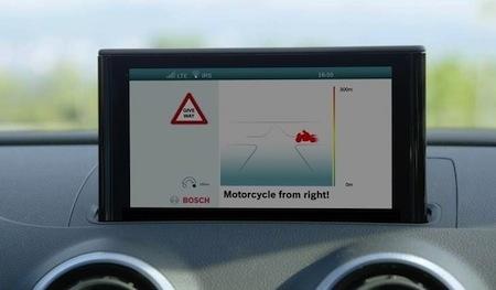 Bosch: un dispositif de protection numérique pour mieux voir les deux-roues