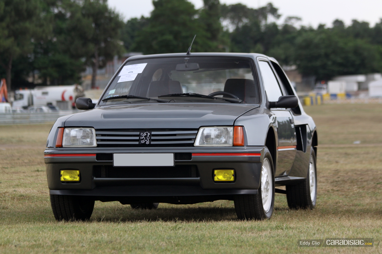 1984 1985 peugeot 205 turbo 16 serie 200 dark cars wallpapers. Black Bedroom Furniture Sets. Home Design Ideas