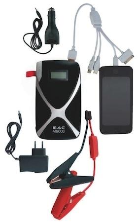 Mini-batterie & booster MAC 8000: c'est où tu veux, quand tu veux...