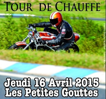 Iron Bikers, Tour de chauffe: le 16 avril à l'esplanade Nathalie Sarraute