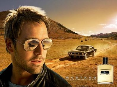 Parfum Mustang : tu sens le poney Denis !