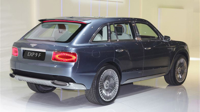 Guide des stands Mondial 2012 : Bentley confirme le SUV