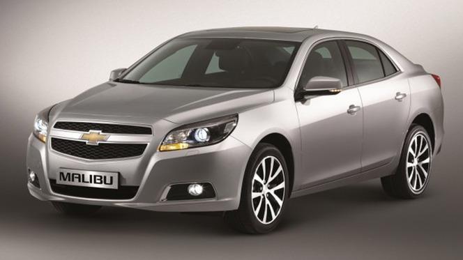 Guide des stands Mondial 2012 : la Chevrolet Malibu débarque en Europe