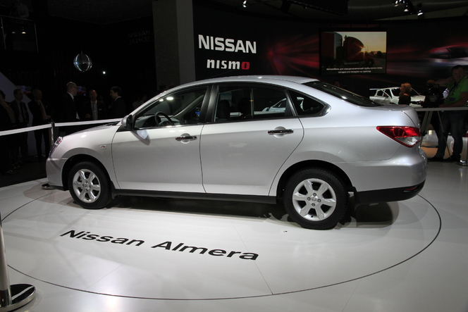 Salon de Moscou Live 2012 : Nissan Almera, le retour en classe low cost