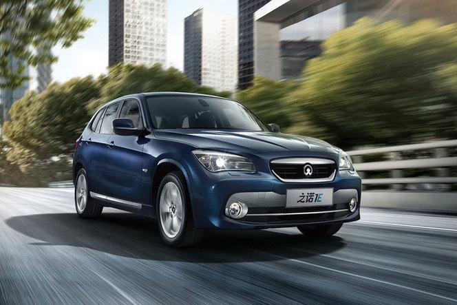 Guangzhou 2013 : BMW et Brilliance dévoilent la Zinoro 1E