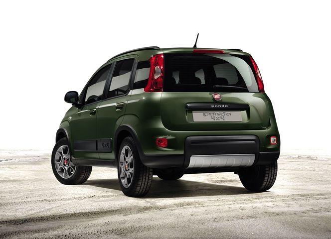 Mondial de Paris 2012 - Voici la Fiat Panda 4x4