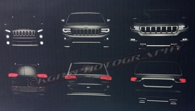 Jeep : le nouveau Grand Wagoneer en fuite