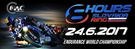 Championnat du Monde d'Endurance 2017: les 8 Hours of Slovakia Ring ce sera le 24 juin prochain