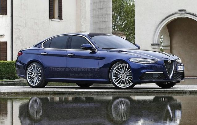 Future berline haut de gamme Alfa Romeo : comme ça ?