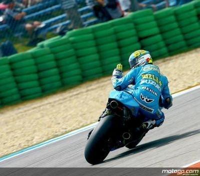 Moto GP - Laguna Seca: Douche froide pour Suzuki