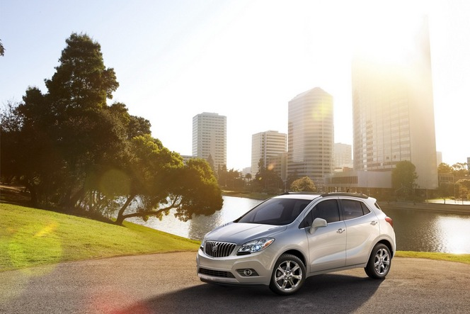 Le Buick Encore (Opel Mokka) va gagner des moteurs plus puissants