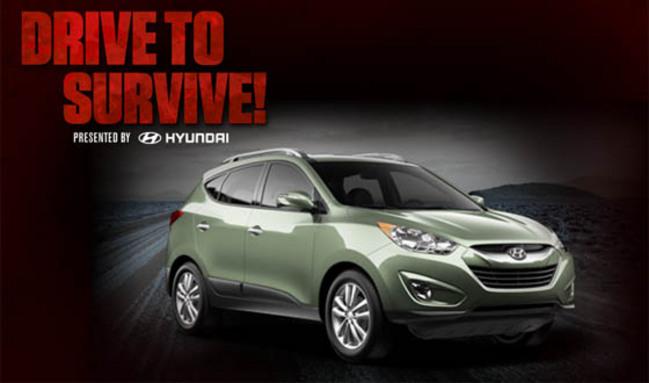 """Hyundai lance une série spéciale """"The Walking Dead"""" sur le Tucson"""