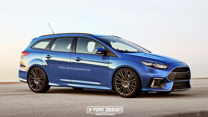 Ford Focus RS SW : comme ça ?