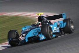 Tests GP2 Barcelone : Di Grassi et Parente devant, Grosjean très lent