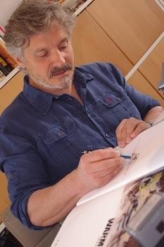 Reportage: Renaud Garreta, rencontre avec l'auteur de Warm Up