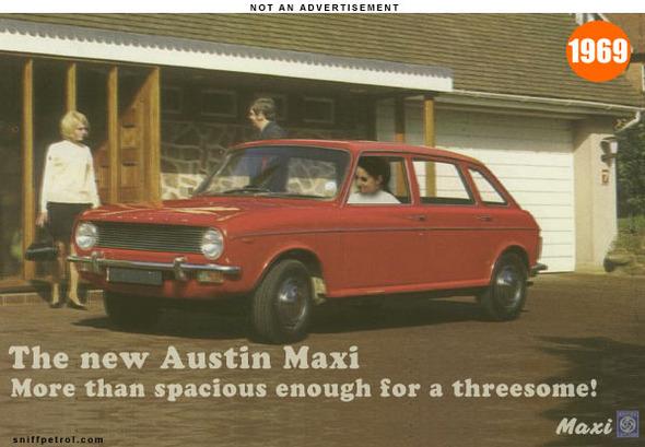 Publicités autos, petite rétrospective
