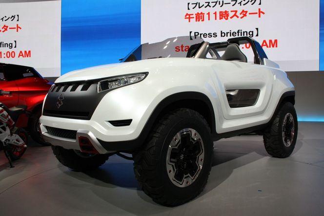 Tokyo 2013 : Suzuki X-Lander concept, le Jimny de demain ?