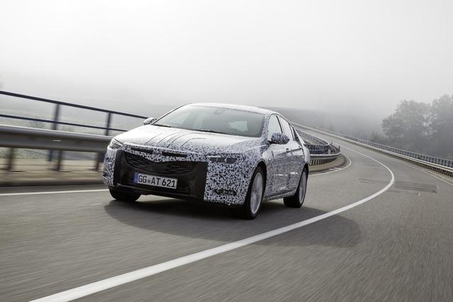 Prise en mains : Opel Insignia Grand Sport (2017) : montée en gamme