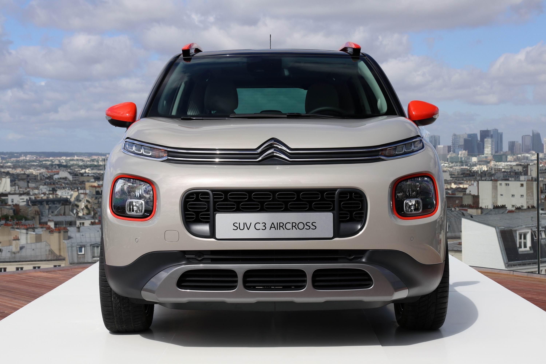 Extrêmement de Francfort 2017 - Citroën C3 Aircross : air du temps MF08