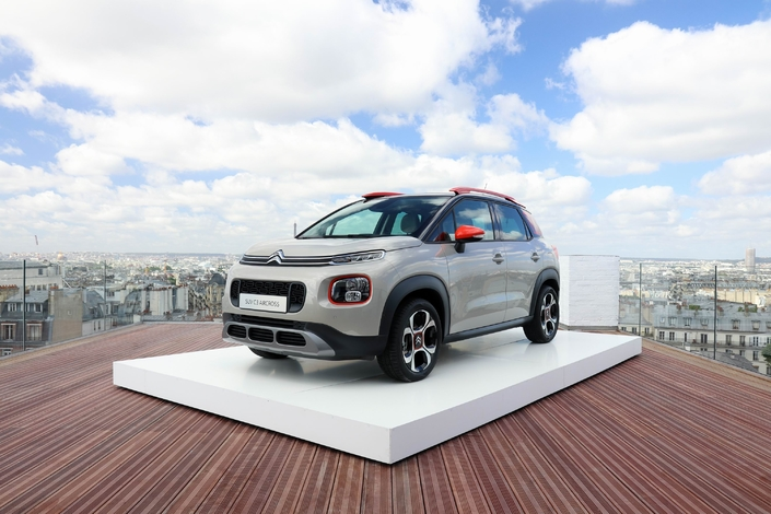 Salon de Francfort 2017 - Citroën C3 Aircross : air du temps