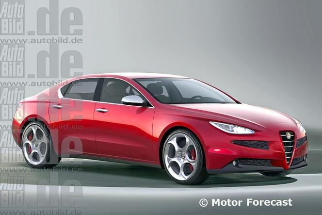 Future Alfa Romeo Giulia coupé: comme ça?