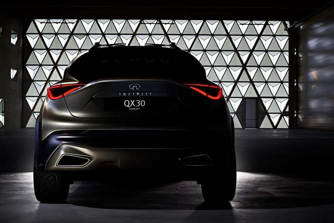 Genève 2015 : Infiniti tease son crossover compact QX30 Concept