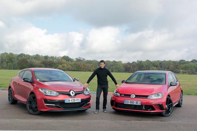 Comparatif vidéo - Renault Mégane RS vs Volkswagen Golf GTi Clubsport : el classico
