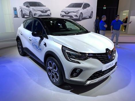 Renault présente les Clio hybride et Captur hybride rechargeable - En direct du Salon de Bruxelles 2020