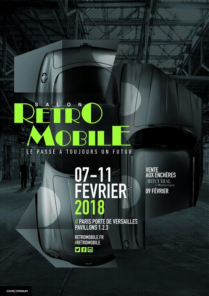 Rétromobile 2018 : les premières informations officielles