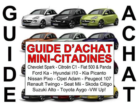Guide d 39 achat quelle mini citadine acheter - Petite voiture 5 portes ...