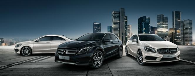 Mercedes présente sa collection Street Style destinée aux Classe A, CLA et GLA