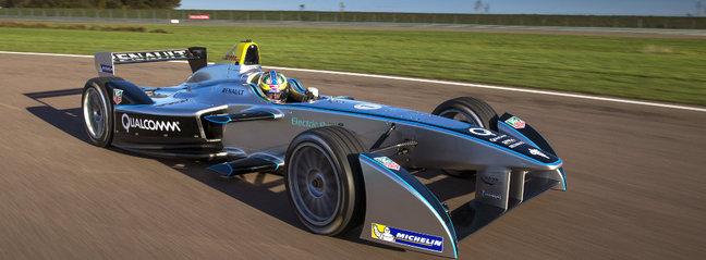 Future Formula E : premiers tours de roues en vidéo