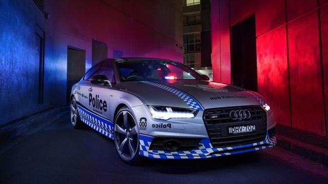 Australie : pas de Renault Mégane RS pour la police, mais une Audi S7 Sportback