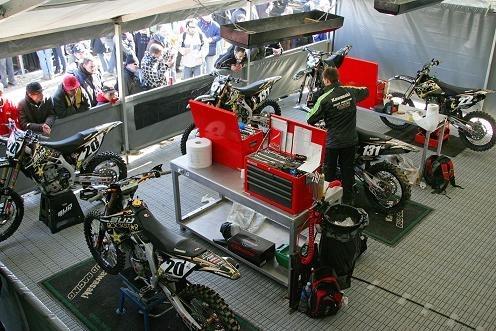 Motocross : Présentation des pilotes Kawasaki demain sur internet!