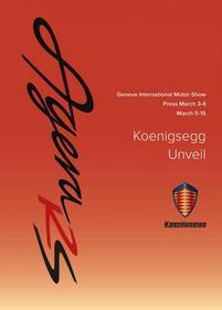 Genève 2015 : Koenigsegg présentera l'Agera RS