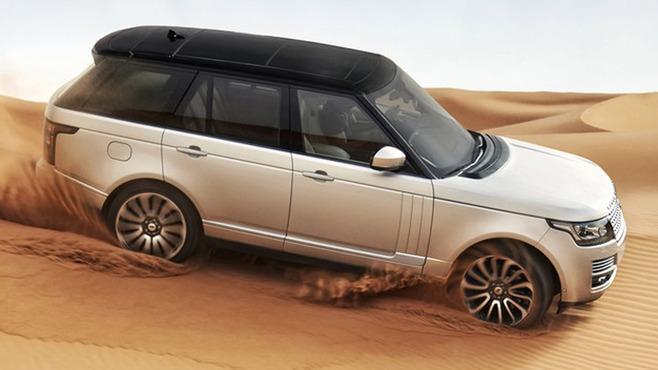 Guide des stands Mondial 2012 : Land Rover et son nouveau Range Rover