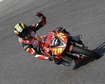 Supersport 2008: Kenny Foray impressionnant lors des essais Triumph