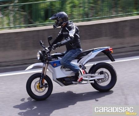 Essai Zero Motorcycles S : un style bien personnel.