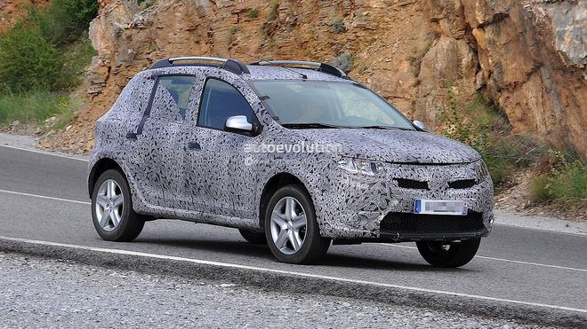Guide des stands Mondial 2012 : Dacia et la nouvelle Sandero