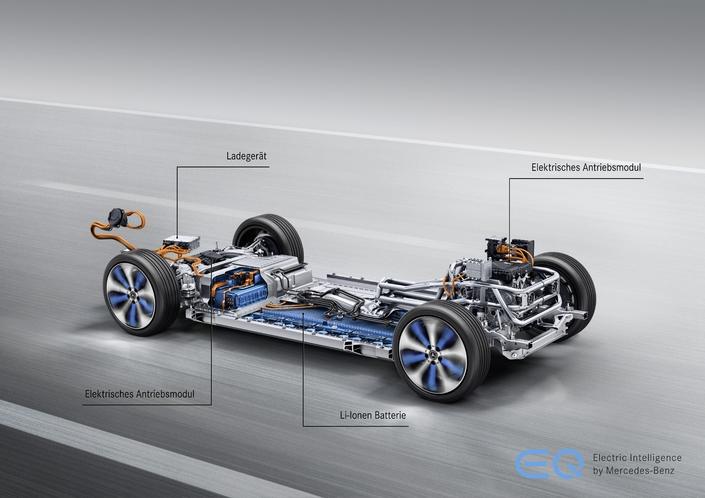 Mercedes EQC: première étoile électrique - Vidéo en direct du Mondial de l'auto 2018
