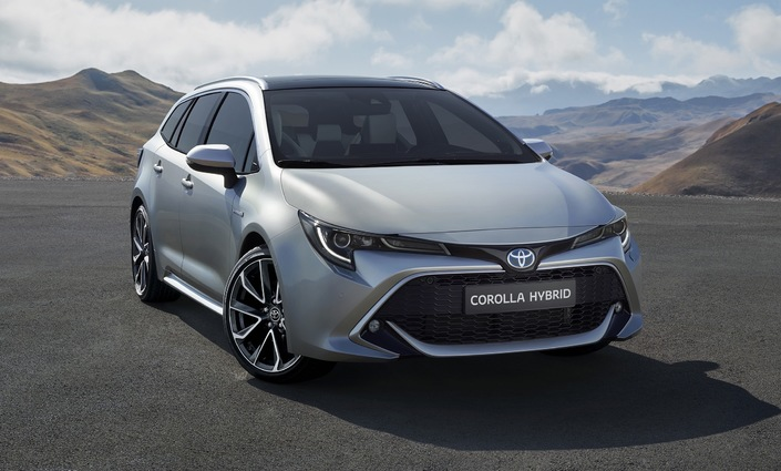 mondial de paris 2018 toyota d voile la nouvelle corolla break. Black Bedroom Furniture Sets. Home Design Ideas