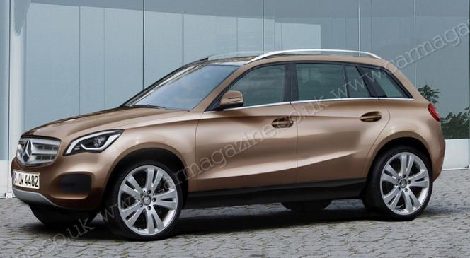 Future Mercedes Classe A 4 portes: comme ça?