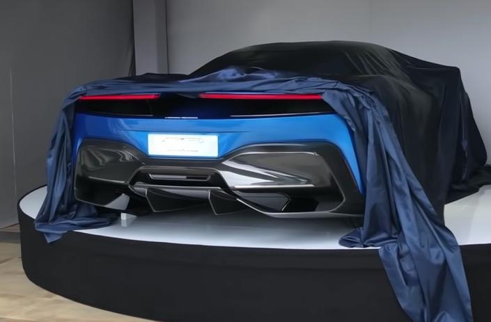 Nouvelle 208 2019 >> Salon de Genève 2019 : Pininfarina dévoile une partie de sa supercar électrique