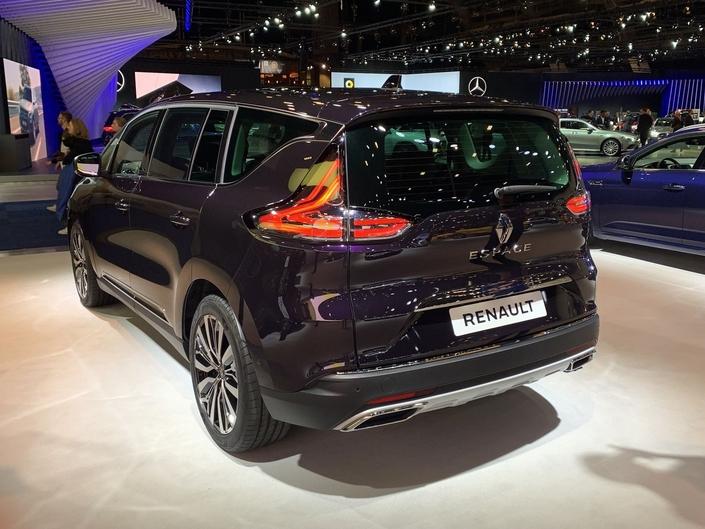 Renault Espace restylé: plus techno - Vidéo en direct du Salon de Bruxelles 2020