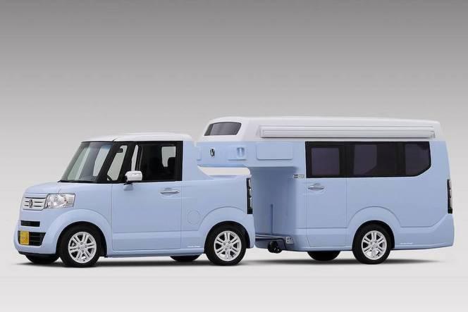 Honda N-Truck et N-Camp : campeur des villes