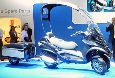 Piaggio MP3: Et voilà la version S.U.V !